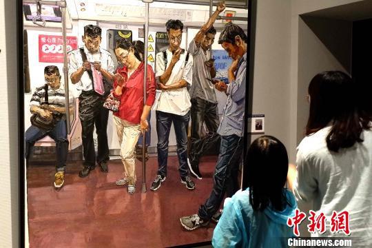 全国青年美展亮相青海民众感受高规格艺术