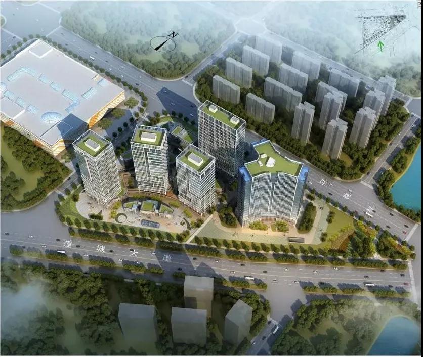 许昌要建一峰广场!总建筑面积70265.7平方米,紧挨万达!