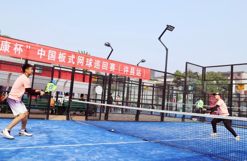 """2019""""德康杯""""中国板式网球巡回赛在龙8国际手机登入口开赛"""