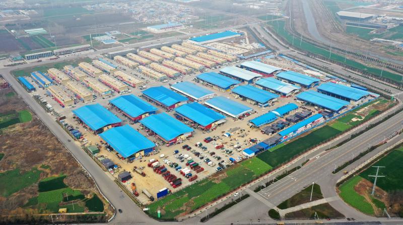 電商物流(liu)復工 助力農產品銷售