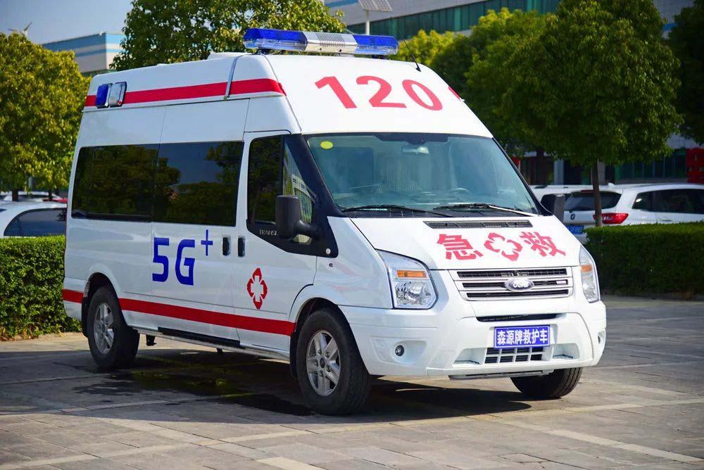 """智造之都 5G救護車(che) 上車(che)即""""入院"""""""