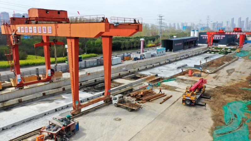 鄭許市域鐵路 加緊建設