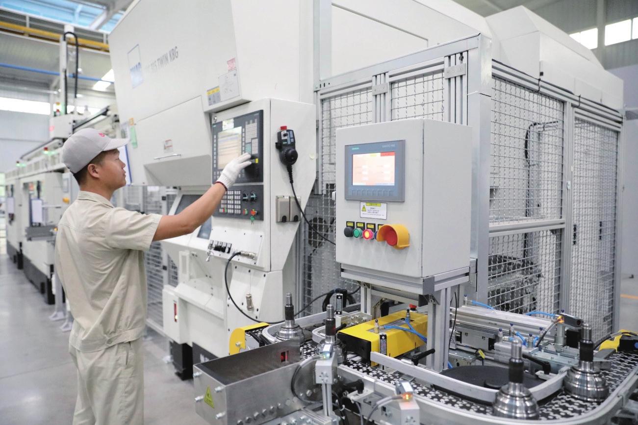 远东传动轴:打造智能制造生产线