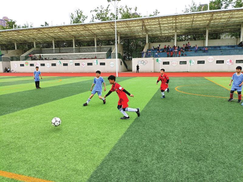 """2021年度""""市长杯""""校园足球联赛小学组比赛开赛"""